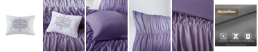 Intelligent Design Ellen Twin/Twin XL 3-Pc. Ombre and Ruched Comforter Set