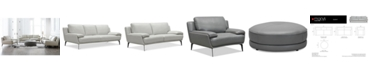 Furniture Surat Leather Sofa Collection, Created for Macy's
