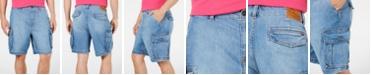 "Tommy Hilfiger Men's 9"" Denim Cargo Shorts"