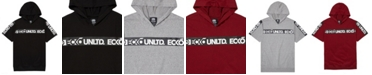 Ecko Unltd Men's Shoulder Up Short Sleeve Tape Hoodie