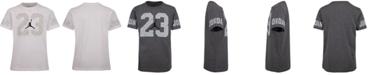Jordan Toddler Boys Speckled-Print 23 Cotton T-Shirt