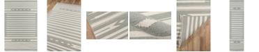 "Erin Gates Thompson Tho-1 Billings Gray 3'6"" x 5'6"" Area Rug"