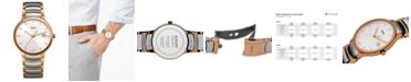 Rado Watch, Men's Swiss Centrix Two-Tone Stainless Steel Bracelet 38mm R30554103