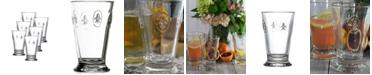 La Rochere La Rochere Fleur De Lys 12-ounce Double Old Fashioned Glass, Set of 6.