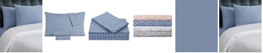 Juicy Couture Key Iconic 4-Piece King Microfiber Sheet Set