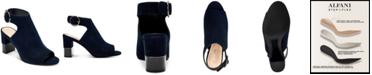 Alfani Floriss Step 'N Flex Block-Heel Shooties, Created for Macy's