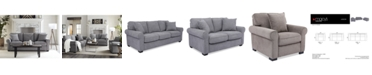 Furniture Ladlow Fabric Sofa Collection, Created for Macy's