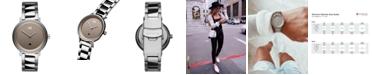 MVMT Signature II Cloud Silver Stainless Steel Bracelet Watch 34mm