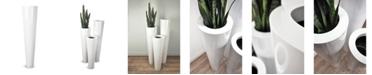 Le Present Lux Box Fiberglass Flower Pot 30 x 140 cm
