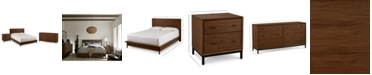 Furniture Oslo Bedroom Furniture, 3-Pc. Set (California King Bed, Nightstand & Dresser), Created for Macy's