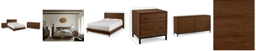 Furniture Oslo Bedroom Furniture, 3-Pc. Set (King Bed, Nightstand & Dresser), Created for Macy's
