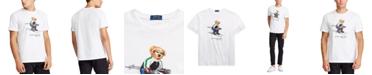 Polo Ralph Lauren Men's Jersey Cotton Cocoa Polo Bear T-Shirt