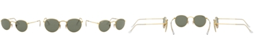 Ray-Ban ROUND METAL Polarized Sunglasses, RB3447 50