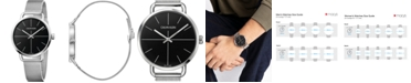 Calvin Klein Unisex Even Extension Stainless Steel Mesh Bracelet Watch 42mm