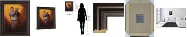 "Classy Art Trumpet Player Framed Print Wall Art, 22"" x 26"""