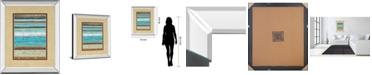 "Classy Art Strata I by Tava Studios Mirror Framed Print Wall Art, 34"" x 40"""