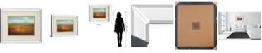 "Classy Art Last Light by Caroline Gold Mirror Framed Print Wall Art, 34"" x 40"""