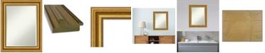 "Amanti Art Parlor Gold-tone Framed Bathroom Vanity Wall Mirror, 23.62"" x 29.62"""