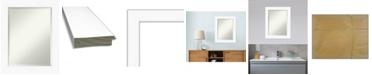 "Amanti Art Cabinet Framed Bathroom Vanity Wall Mirror, 23.38"" x 29.38"""
