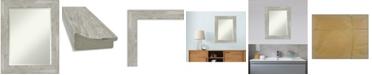 "Amanti Art Dove Framed Bathroom Vanity Wall Mirror, 23.88"" x 29.88"""