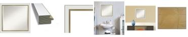 "Amanti Art Eva Gold-tone Framed Bathroom Vanity Wall Mirror, 23.12"" x 23.12"""