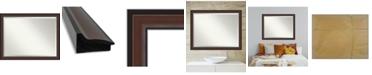 """Amanti Art Harvard Framed Bathroom Vanity Wall Mirror, 44.5"""" x 34.50"""""""