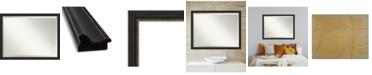 "Amanti Art Accent Framed Bathroom Vanity Wall Mirror, 43.5"" x 33.50"""