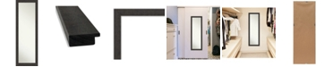 "Amanti Art Rustic Plank on The Door Full Length Mirror, 17.25"" x 51.25"""