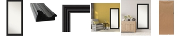 "Amanti Art Colonial Framed Floor/Leaner Full Length Mirror, 29.75"" x 65.75"""