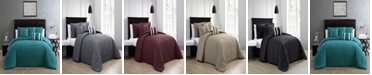 Geneva Home Fashion Yardley 10-Piece Embossed Queen Bedding Set
