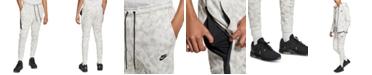 Nike Men's Sportswear Tech Fleece Printed Joggers