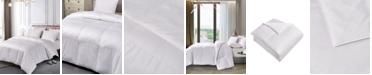 Blue Ridge Pima Cotton European White Down Comforter, Twin