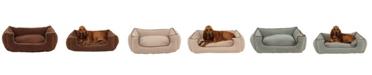 Carolina Pet Company Microfiber Low Profile Kuddle Lounge