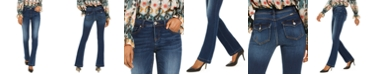 INC International Concepts INC Petite Bootcut Tummy Control Jeans, Created for Macy's