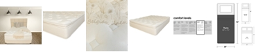 """Paramount Nature's Spa by Oasis 13.5"""" Plush Pillow Top Mattress- Twin"""