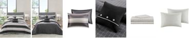 Madison Park Essentials Dalton Reversible 8-Piece Full Bedding Set