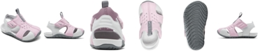 Nike Toddler Girls Sunray Protect 2 Stay-Put Closure Sandals from Finish Line