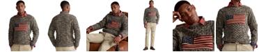 Polo Ralph Lauren Men's Flag Aran Marled Sweater