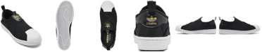 adidas Women's Superstar Slip On Casual Sneakers from Finish Line