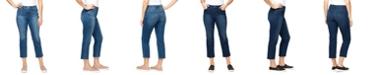 Gloria Vanderbilt Women's Modern Straight Crop Jeans