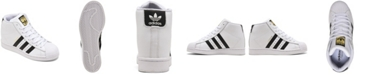 adidas adidas  Originals Women's Superstar Up High Top Platform Casual Sneakers from Finish Line