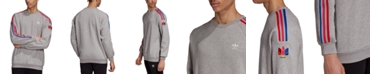adidas adidas Men's Originals 3D Trefoil Crewneck Sweatshirt