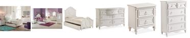Furniture Celestial Kids Bedroom Furniture Collection, Panel Bed
