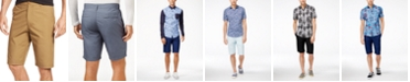 American Rag Men's Solid Slim-Fit Poplin Chino Shorts, Created for Macy's