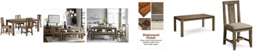 """Furniture Canyon 5 Piece Dining Set, Created for Macy's,  (72"""" Dining Table and 4 Side Chairs)"""