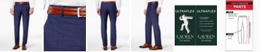 Lauren Ralph Lauren Solid Ultraflex Classic-Fit Wool Dress Pants