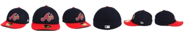 New Era Atlanta Braves Low Profile AC Performance 59FIFTY Cap