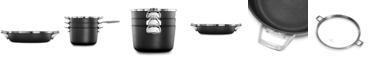 "Calphalon Premier Space-Saving Hard-Anodized Non-Stick 12"" Everyday Pan & Lid"