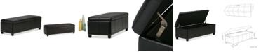 Simpli Home Rhodes Storage Bench
