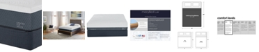 """Macybed Lux Greenbriar 12"""" Firm Memory Foam Mattress Set - California King, Created for Macy's"""